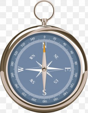 Metal Compass Vector - Metal Euclidean Vector PNG