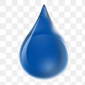 Blue Water Drop - Drop Water Liquid Clip Art PNG