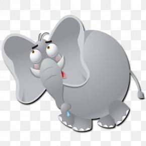 Fat Elephant - Elephant Euclidean Vector PNG
