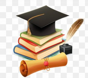 Vector School Supplies - Learning Bachelor's Degree PNG
