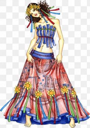 Traditional Illustration - Fashion Illustration 1960s Clothing Fashion Design PNG