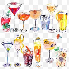 Drink - Cocktail Drawing Art Drink Illustration PNG