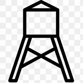 Art Stand Icon - Water Tower Clip Art PNG