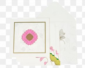 Indian Wedding Cards - Paper Picture Frames Pink M Rectangle RTV Pink PNG