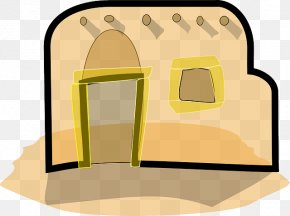 ROOF STRAW - Adobe House Building Clip Art PNG