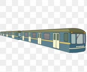 Train - Train Passenger Car Railroad Car PNG