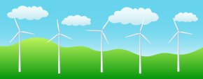 Mountain Wind Cliparts - Wind Farm Wind Turbine Wind Power Renewable Energy Clip Art PNG
