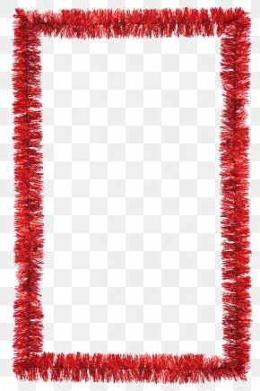 Christmas Border - Christmas Decoration Tinsel Stock Photography PNG