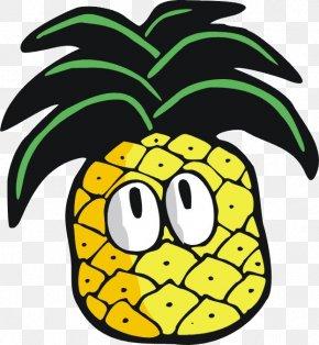 Cartoon Pineapple - Pineapple Cartoon Raster Graphics PNG