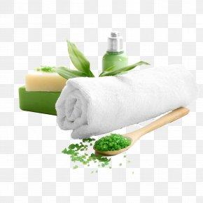 Spa - Towel Spa Soap Bath Salts Cosmetology PNG