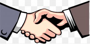 Blustery Cliparts - Businessperson Handshake Clip Art PNG