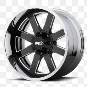Truck - Custom Wheel Metal Rim Chrome Plating PNG