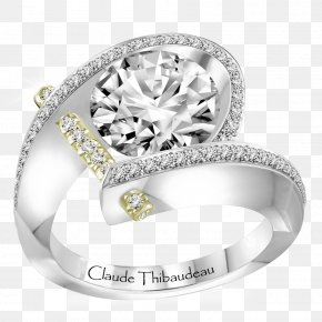 Ring - Engagement Ring Jewellery Gold Diamond PNG