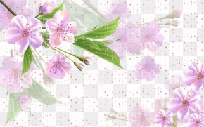 Pink Fantasy Flowers Background - Flower Pink PNG