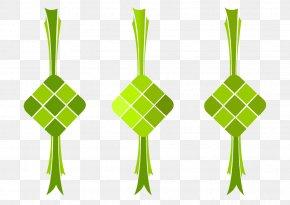 Ketupat - Ketupat Rendang Coconut Clip Art PNG