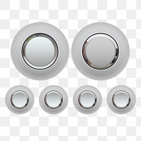 Metal Button - Metal Button Download Icon PNG