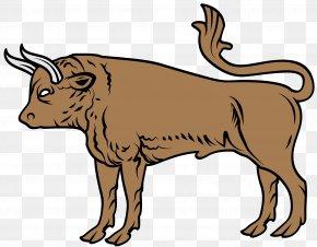 Bull - Poseidon Cattle Heraldry Zeus Bull PNG