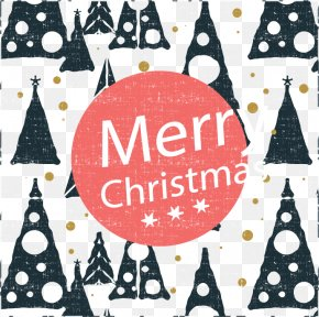 Background Triangle Christmas Tree Greeting - Christmas Tree Christmas Card Christmas Ornament Greeting Card PNG