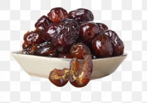 The Sweet Dates On The Plate - Donkey-hide Gelatin Indian Jujube Food Sweetness PNG