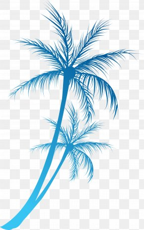 Great Cartoon Coconut Tree Branch - Arecaceae Royalty-free Clip Art PNG