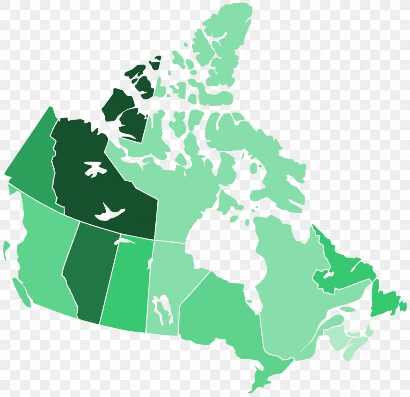 Flag Of Canada United States Vector Map, PNG, 1057x1024px ...