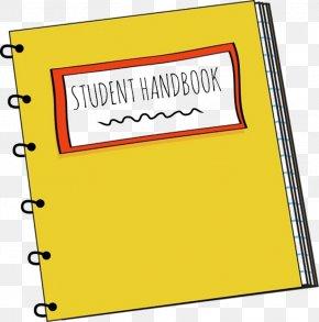 Handbook - Notebook School Supplies Clip Art PNG
