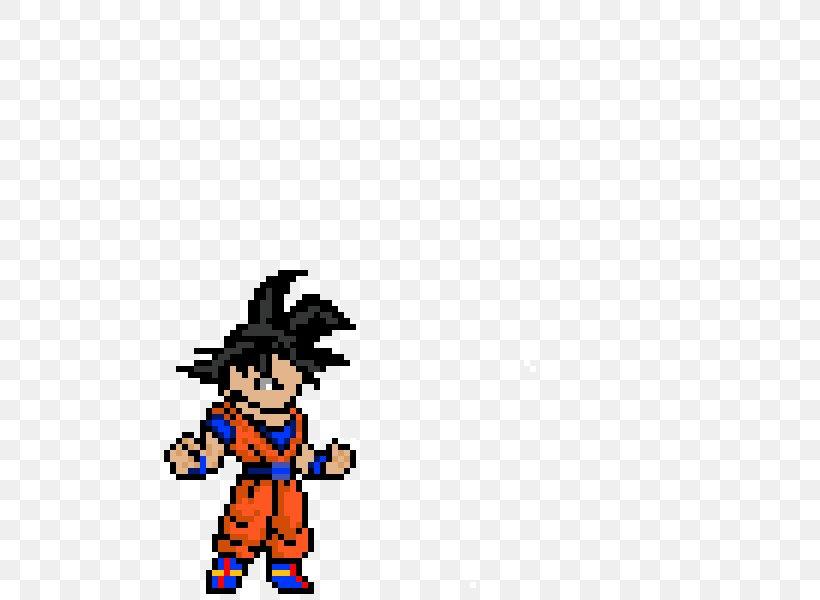 Goku Vegeta Pixel Art Super Saiyan Png 600x600px Goku