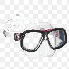 Diving Mask - Diving & Snorkeling Masks Aqua-Lung Underwater Diving Aqua Lung/La Spirotechnique Scuba Diving PNG