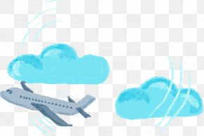 Vector Hand-painted Aircraft - International Passport Travel Visa Immigration Permanent Residency PNG