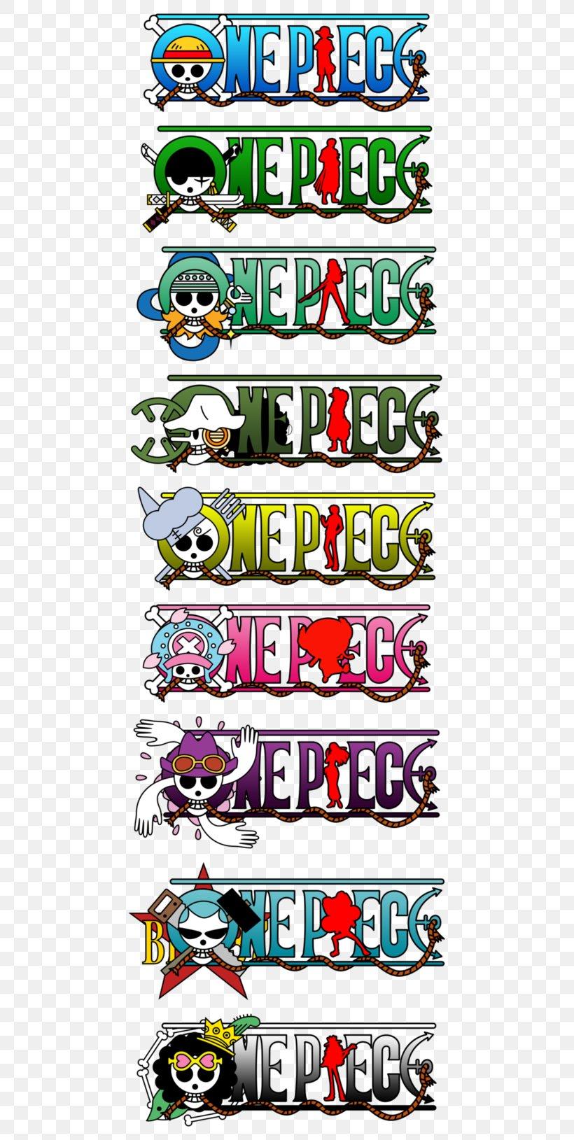 Monkey D. Luffy Usopp Vinsmoke Sanji Roronoa Zoro Nami, PNG, 491x1629px, Monkey D Luffy, Area, Art, Jolly Roger, Logo Download Free