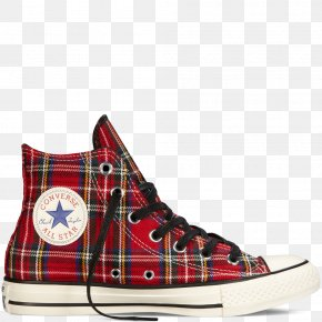 Converse Chuck Taylor 70's Hi ShoesWhite Sports ShoesRed Plaid Converse Shoes For Women - Chuck Taylor All-Stars Converse Shoes PNG