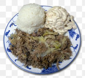 Barbecue - Cuisine Of Hawaii Barbecue Chicken Cooked Rice Laulau PNG