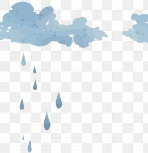 Vector Rain Clouds - Cloud Rain Icon PNG