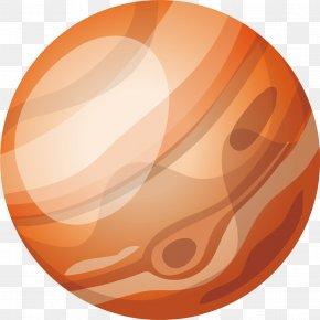 Yellow Planet - Planet Euclidean Vector Mercury Vecteur PNG