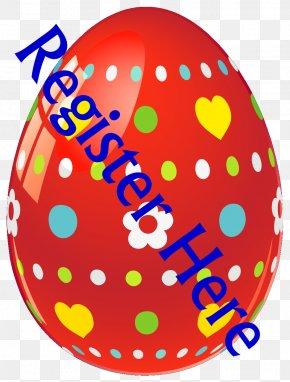 Easter Eggs - Red Easter Egg Easter Bunny Clip Art PNG