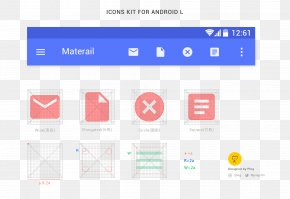 Android Andrews Table Icon - Template Material Design Android User Interface Icon PNG