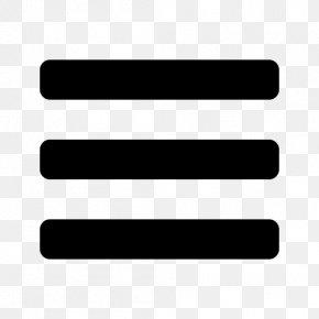 List - Hamburger Button Symbol Computer Software PNG