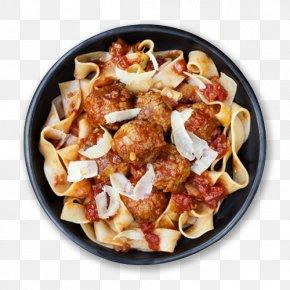 Clip Art Spaghetti And Meatballs - Pasta Bolognese Sauce Italian Cuisine Spaghetti With Meatballs Pappardelle PNG