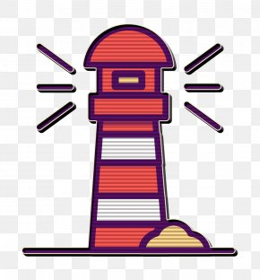Traveling Icon Travel Icon - Boat Icon Lighthouse Icon Outline Icon PNG