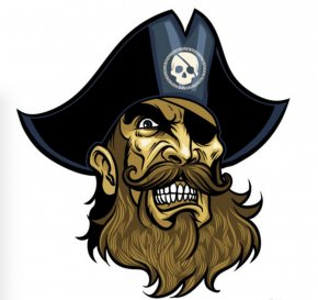 Beard And Moustache - Piracy Royalty-free Stock Photography Clip Art PNG