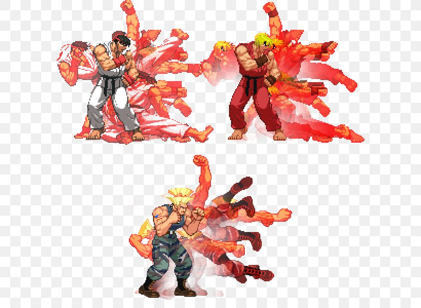 Street Fighter V Ryu Ken Masters Picture Frames Png 600x600px