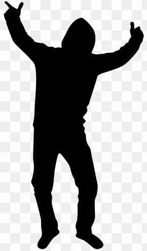 Dancing Boy Silhouette Clip Art Image - Silhouette Clip Art PNG