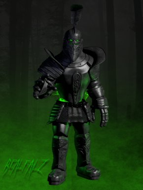 Knight - The Black Knight Ghost Scooby-Doo Villain Film PNG