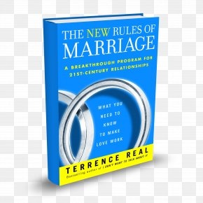 Book - The New Rules Of Marriage: What You Need To Know To Make Love Work Amazon.com Psychotherapist Book PNG