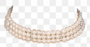 Pearl Necklace - Pearl Necklace Pearl Necklace Earring PNG