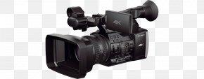 Camera - Sony Handycam FDR-AX1 4K Resolution Video Cameras Professional Video Camera PNG
