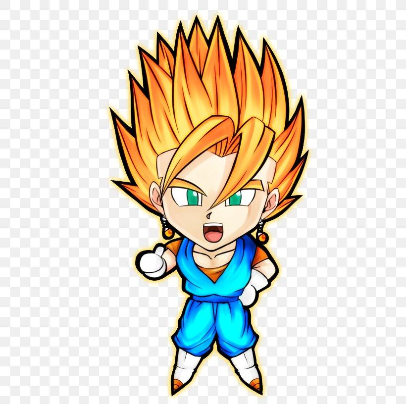 Goku Vegeta Trunks Gohan Majin Buu, PNG, 533x816px, Watercolor, Cartoon, Flower, Frame, Heart Download Free