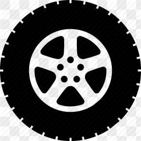 Single, Wheel Icon - Car Tire Wheel PNG