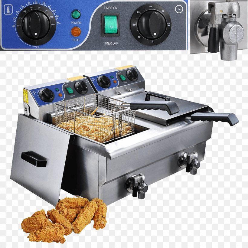 Deep Fryers French Fries Frying Countertop Swan Stainless ...