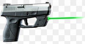Laser Gun - Laser Sight Taurus Slim Pistol PNG
